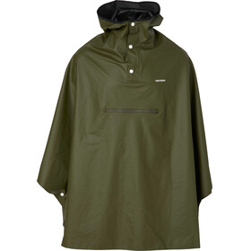 Tretorn PU Light Rainponcho Forest green